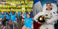 Préparation contact ARISS - St-Leu 2021